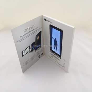 "5"" LCD video mailer for ads"