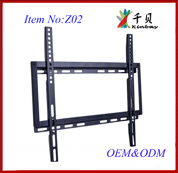 "china production cheap bracket/stand parts for ""26-52"" monitor fixed tv wall mounting"