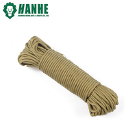 military grade 7 strands 3 inner core 550lbs paracord for outdoor survival camping hunting