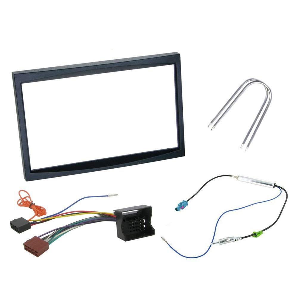 Radio Dash Kit Fascia Panel Wiring Car Stereo Fitting Cheap 2 Din For Peugeot 206 Find Get Quotations 207 307 Double Installation