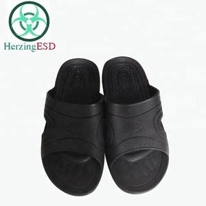 0d05f8fd3330 Black Spu Slippers