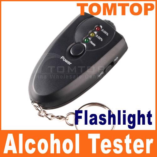 2016 мини-тестер спирта дыхания с фонариком жк Alcotester цифровой алкоголя детектор