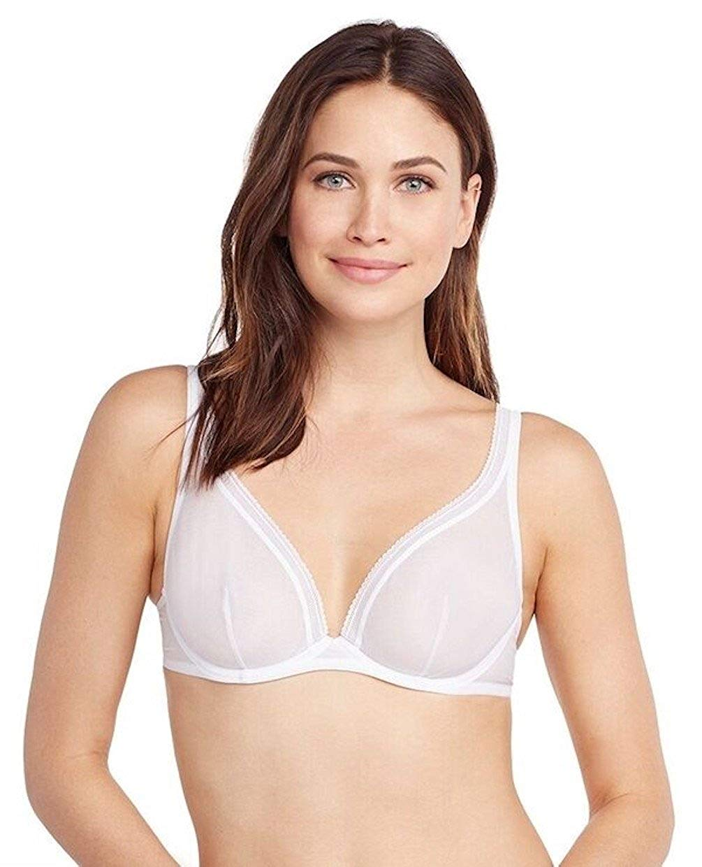 270b77fd6969d Get Quotations · OnGossamer Women s Cotton Mesh Unlined Bra