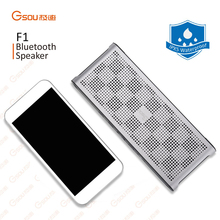 2016 Hot selling consumer electronics 2* 5W aluminum alloy portable Bluetooth V4.0 Speaker with ROHS,CE,FCC