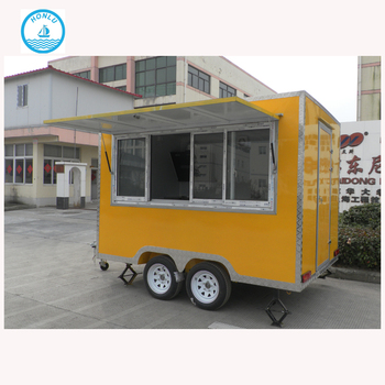 China Snack BBQ Donut Vending Booth Outdoor Food Kiosk Design