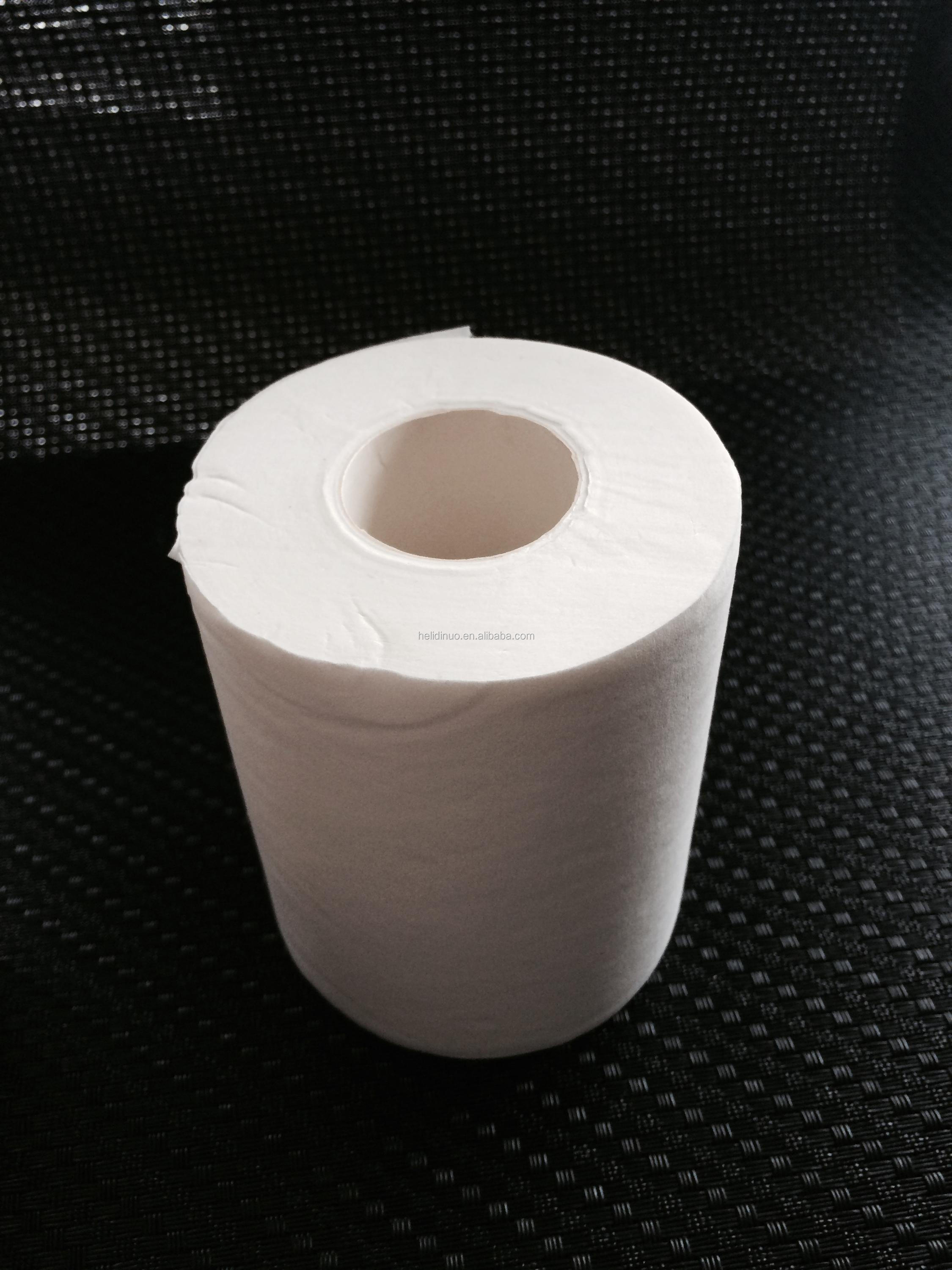 Factory direct white Toilet Paper Tissue, Virgin recycled 1 ply 2ply 3 ply Tissue Paper, Embossing Toilet Tissue