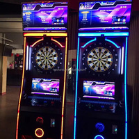 2016 New Arrival Global Network Coin-Operated Electronic Dartboard Machine For Bar