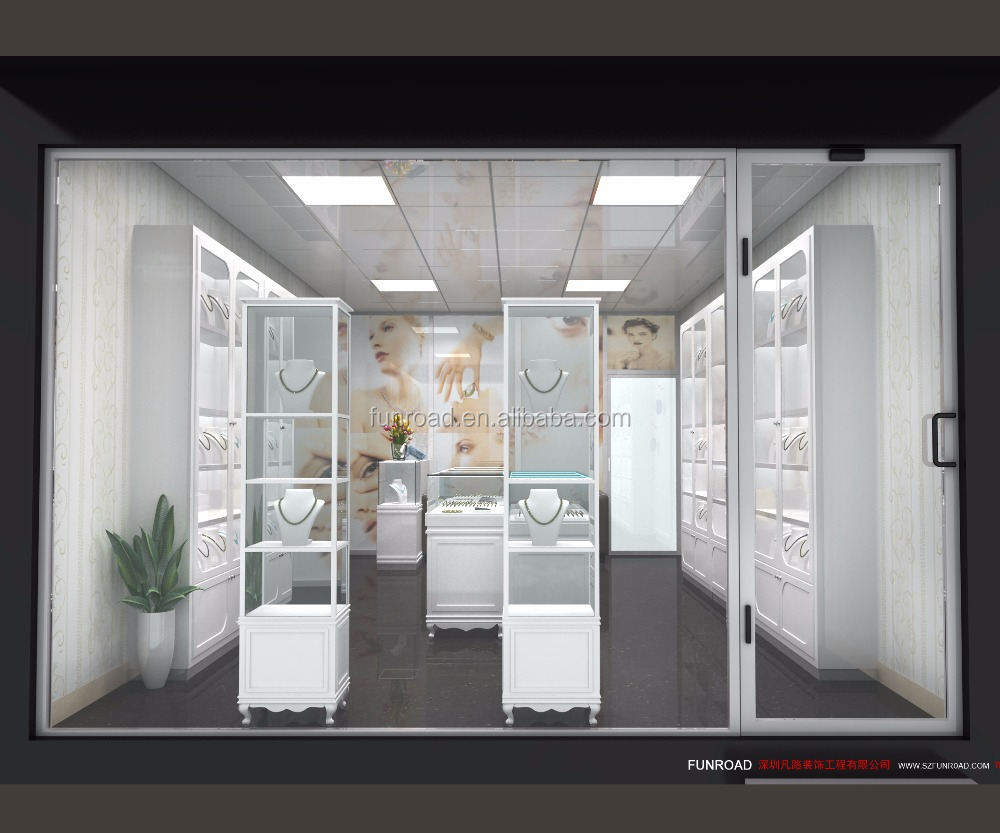 Jewelry shop decoration tower jewelry display showcase design for retail store view retail jewelry store design funroad product details from shenzhen