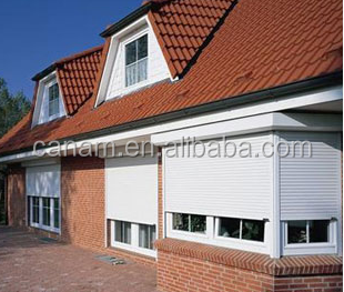 aluminium window rolling up shutter windows