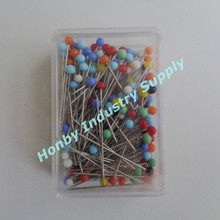Top Quality 38mm Glass Round Pearl Head Sewing Pin