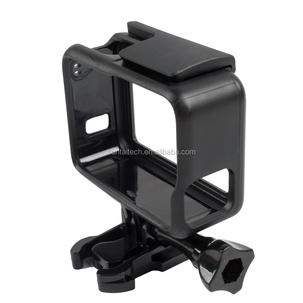Housing Case Border Tripod Adapter Mount + Screw for GoPro Hero 5 Standard protective frame, gopros accessories GP395
