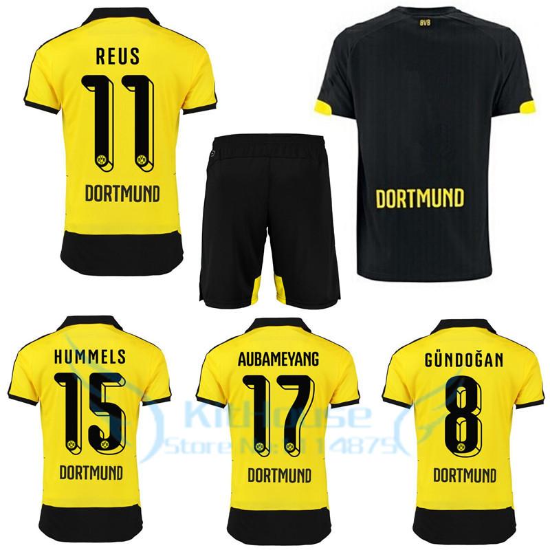 quality design 3221b 89d53 Liverpool 2016 Reus Kit 15 16 Borussia Dortmund Soccer ...