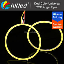 2014 New Hot Sale universal led auto light cob angel eyes for trucks, cars, motocycles