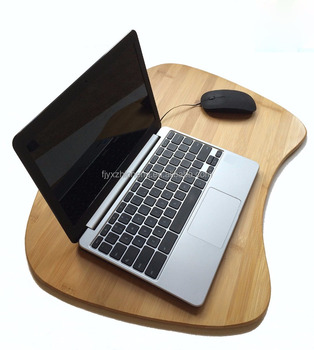100 Natural Bamboo Portable Laptop Table Tray With Pillow Lap Desk For Laptop Computer Buy Natural Bamboo Lapdesk Surface Bamboo Bed Tray Portable