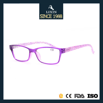 Rectangle Shape Lens Ultra Light Reading Glasses Flexible Tr90 ...