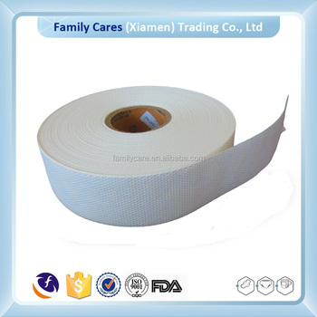 Sanitary napkin raw material, airlaid paper for wipes, airlaid paper for burn pad