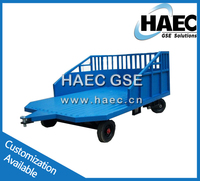 cargo transporting trolley airport ground support equipment