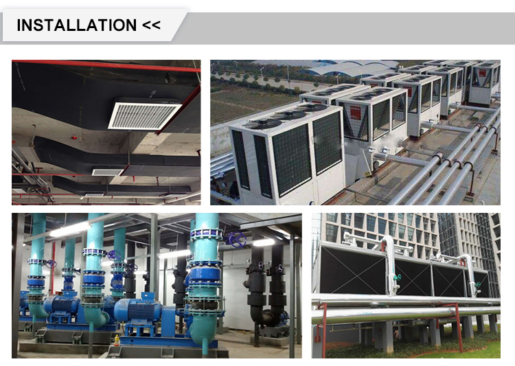 High performance round cassette air cooler fan coil unit for Industry commercial building use