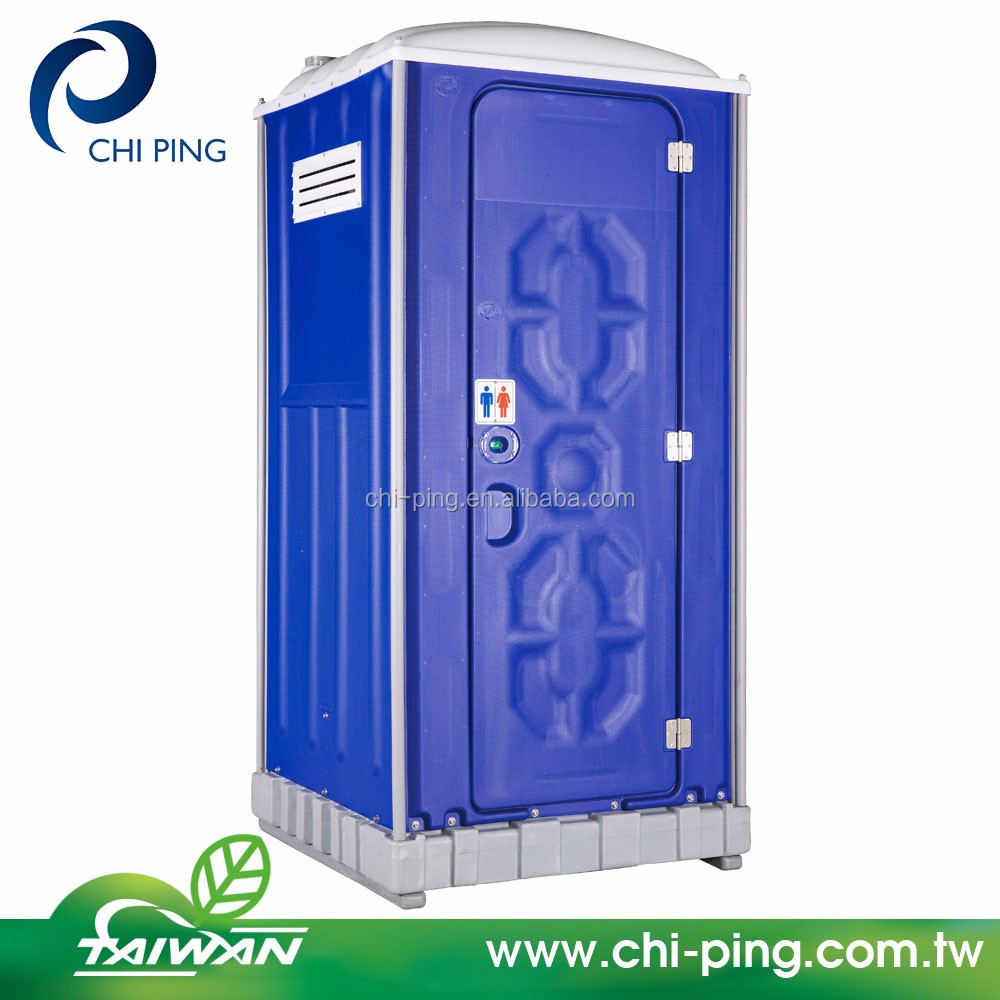 HDPE Squatting tyoe portable toilet feat Mobile Septic tank