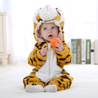 tiger design child flannel wear cheap kids clothes baby clothing animal for 1-3 years old