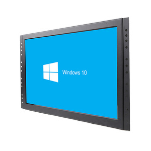 China factory 18.5 inch desktop all in one pc industrial touch panel pc embedded touch screen computer