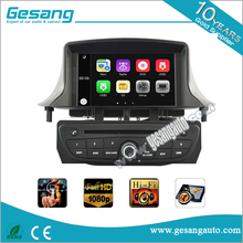 Quad Core 1024*600 HD Android 5.1 Lecteur DVD de voiture pour renault mégane III <span class=keywords><strong>3</strong></span> Wifi 3G bluetooth Radio RDS USB IPOD Canbus