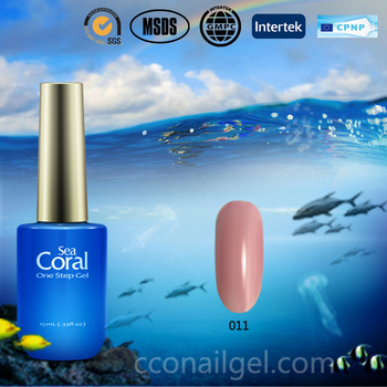 Sea Coral Nail Art Design Private Label Nail Supply 2016 One Step