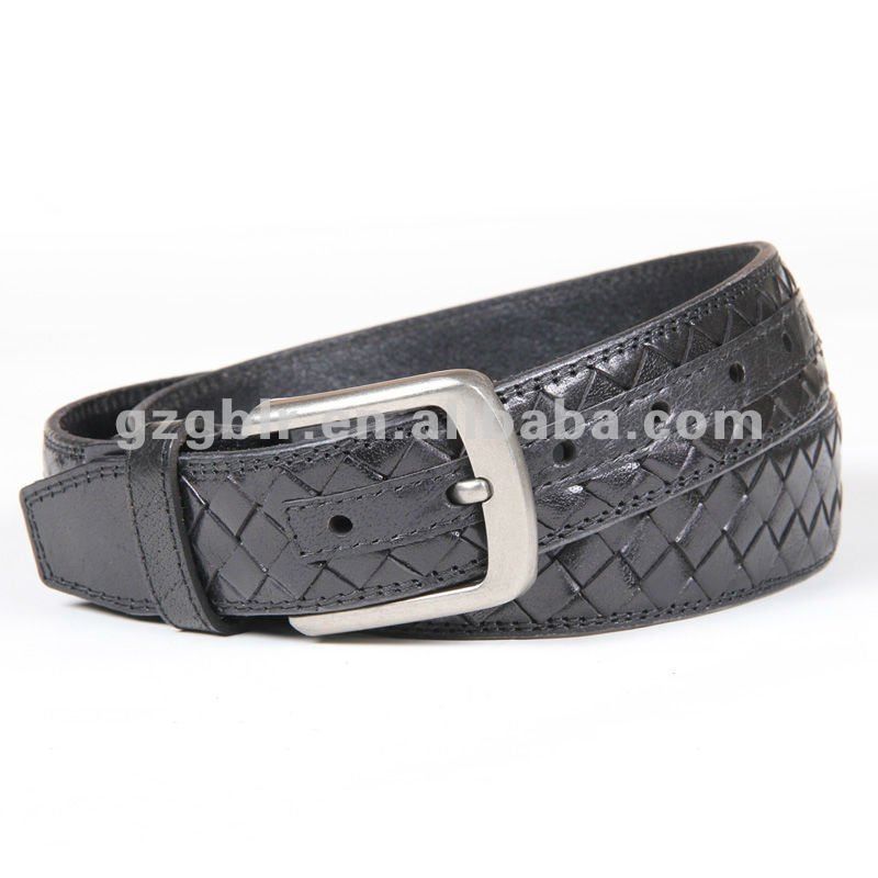 Genuine Leather Braided Belt,Pure Leather Belts,Genuine Calf Skin Leather Belt