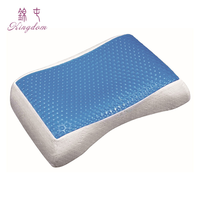 2018 new design Gel cooling memory foam rebound therapeutic pillow