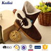 the top quality comfortable hard sole sheepskin ankle boot