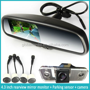 Germid Rearview Mirror Car Lcd Monitor For Bmw With Car Mirror ...