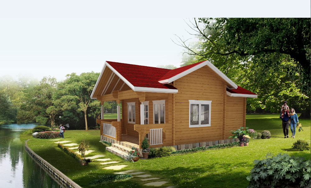 Modern Design Canadian Log Homes American Wood House Cabins For Sale Low  Price