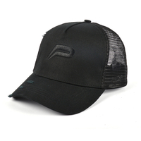 3D embroidery custom mesh trucker cap and hat