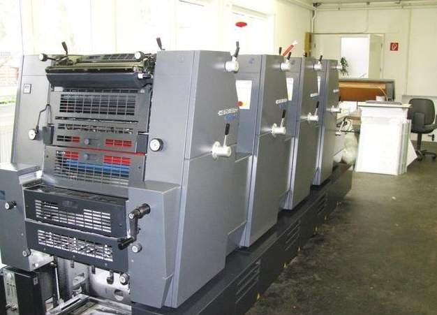 4-color offset printing press Heidelberg GTO PM 52-4-P