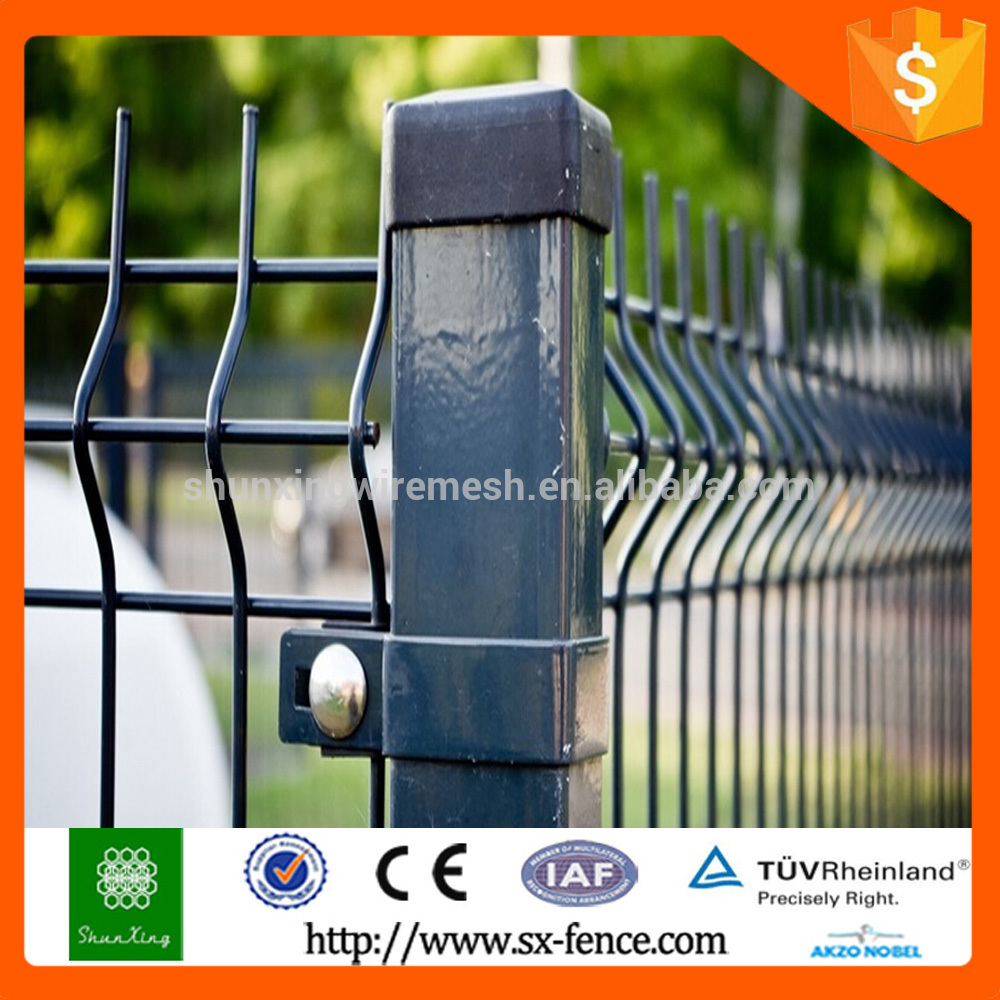 Decorative Metal Fence Post