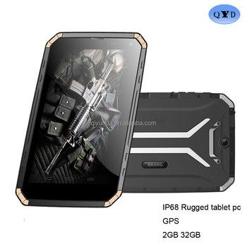 2017 Best Tough Tablet Pc 8 Ips Ip68 Waterproof 4g Calling