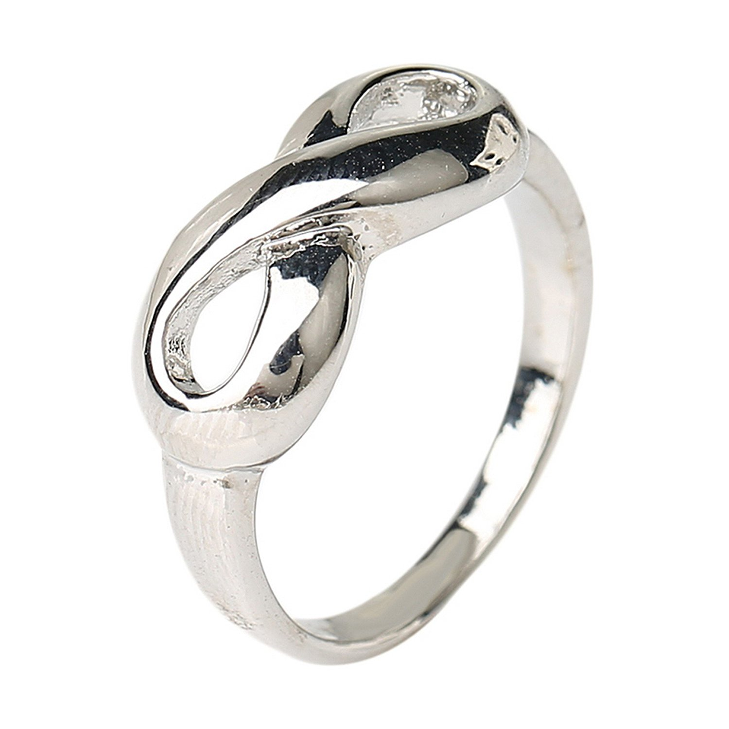 90178ab5bf Get Quotations · GDSTAR Jewelry Plating Silver Ring His and Hers Promise  Ring Sets Engage