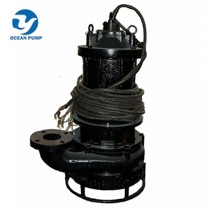 Submersible slurry pump used for Fly ash discharge pond in thermal power plant