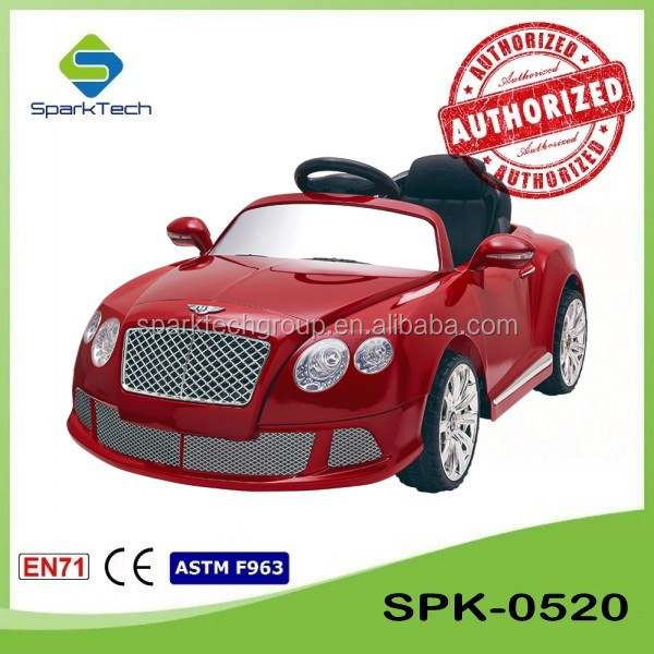 Licensed Bentley Motorized Vehicles For Toddlers, Battery Powered Childrens Cars, Boys Electric Cars SPK-0520