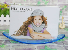 Custom made transparent sailing boat acrylic photo frames