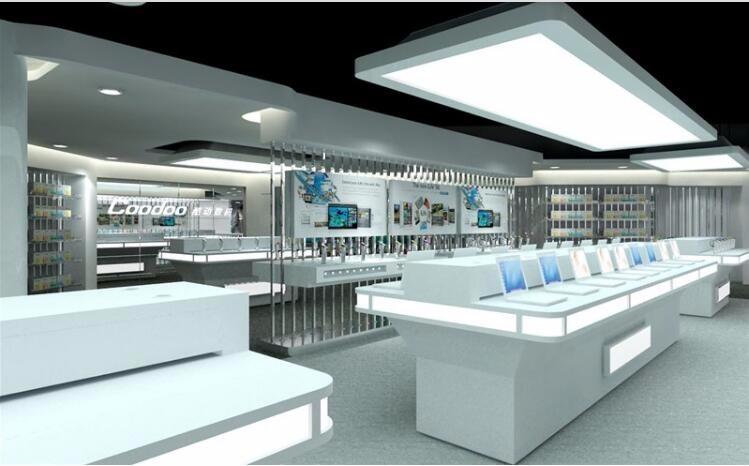 fashion mobile phone shop decoration design