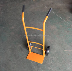 High quality low price HT1560 hand trolley with two solid wheels
