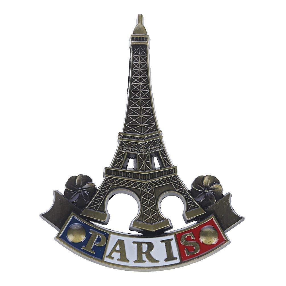 Towashine France Eiffel Tower 3D Metal Fridge Magnet Paris Travel Souvenir Home Decor