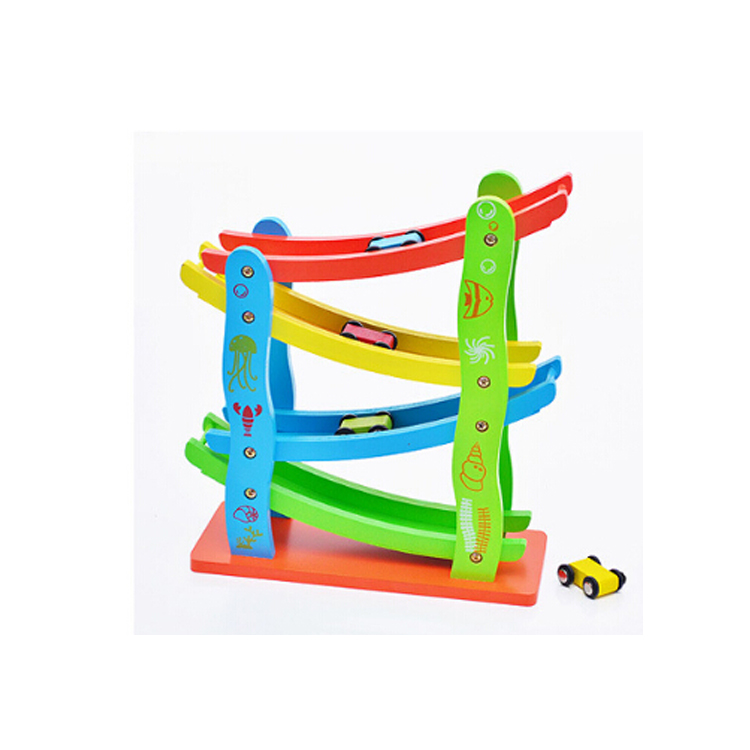 FQ brand Sponsored Listing Contact Supplier Chat Now! Wooden toy car model Sliding track Enlightenment toy Children's car