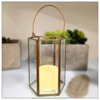 Hanging Geometric Metal Frame Plant Terrarium Glass Pot Buy