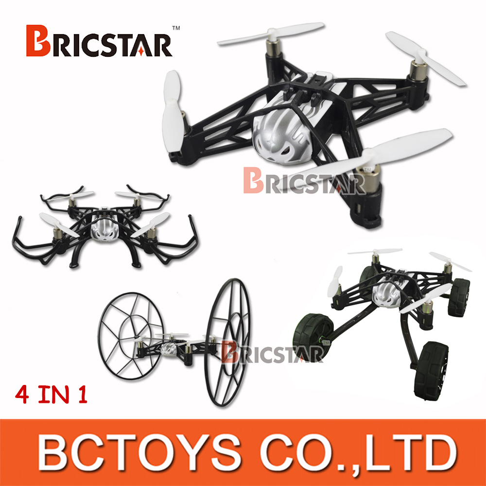 Jxd 389 2 In 1 2.4ghz Hybrid Rc Quadcopter Racing Car With 6-axis ...