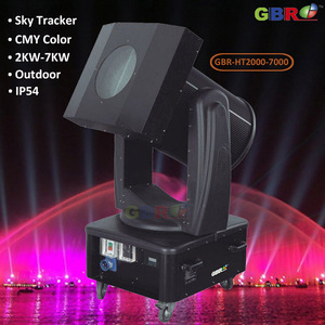 GBR-HT5000 5000W CMY Sky Tracker Beam Moving Head light