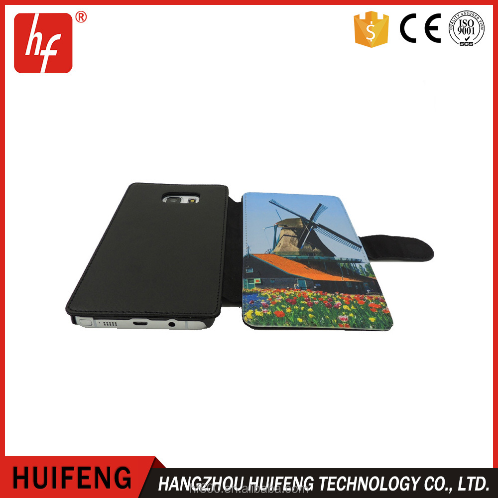2D feather Sublimation phone case, wallet type for iphone/samsung/huawei etc