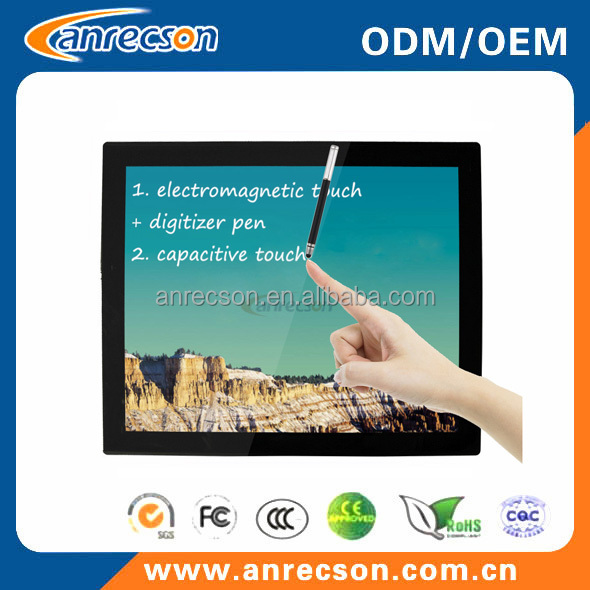 "Anrecson electromagnetic touchscreen digital pen 19"" inch graphics tablet monitor/interactive pen tablet"