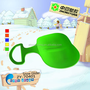 popular supply kids outdoor seat snow sledge